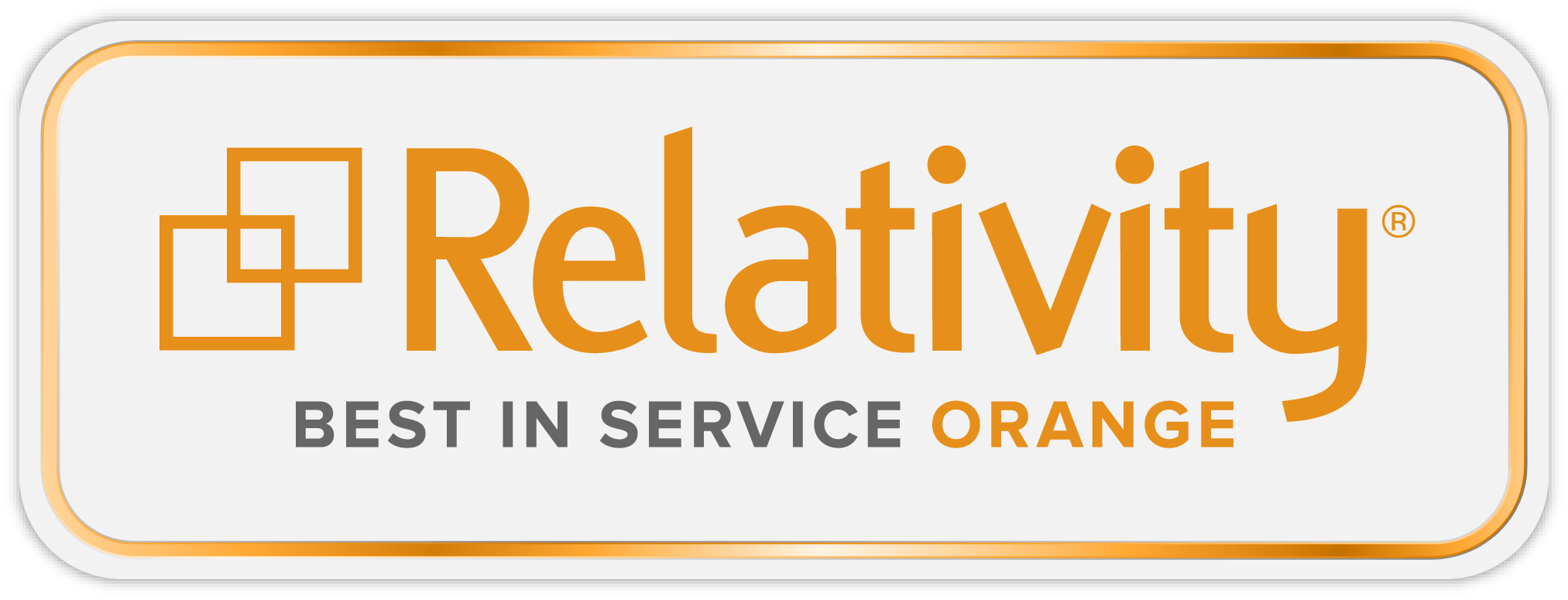 Relativity Best in Service Orange